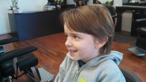 Sam pre-haircut