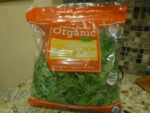 Baby kale because who couldn't use a little superfood!