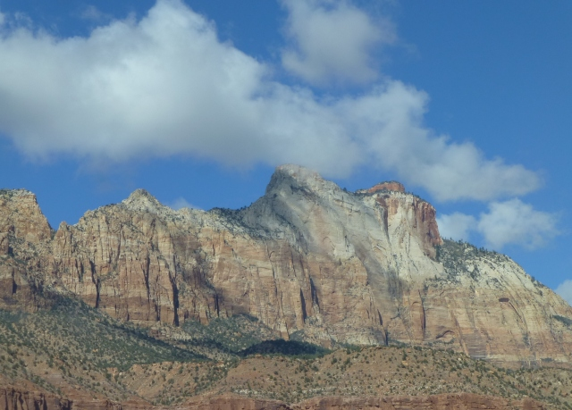 View of Zion National Park