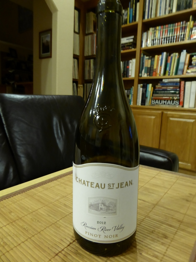 Chateau St. Jean 2012 Russian River Valley Pinot Noir
