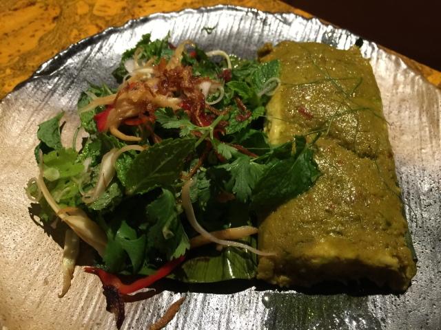 Green curry of sturgeon
