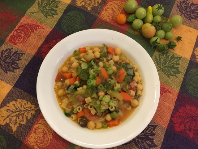 Chickpea stew with ditalini and kalehmvddzrtdyfxfus